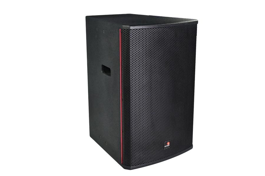 Tecnare E15 full range loudspeaker, right view