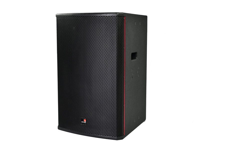 Tecnare E15 full range loudspeaker,left view