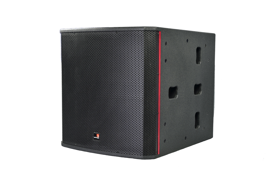 Tecnare ESW118 Subwoofer, left view