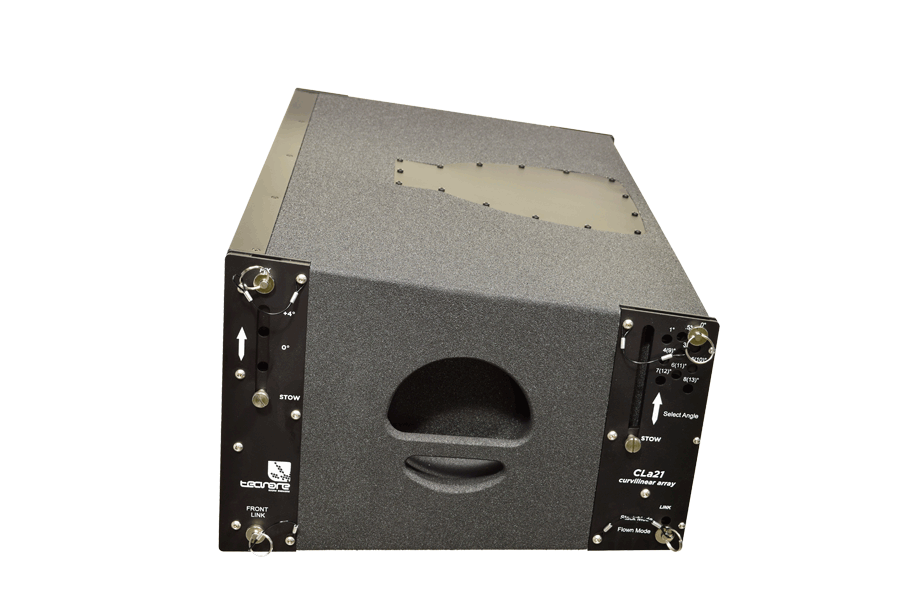 Tecnare Cla21 Line Array Speaker, lateral view
