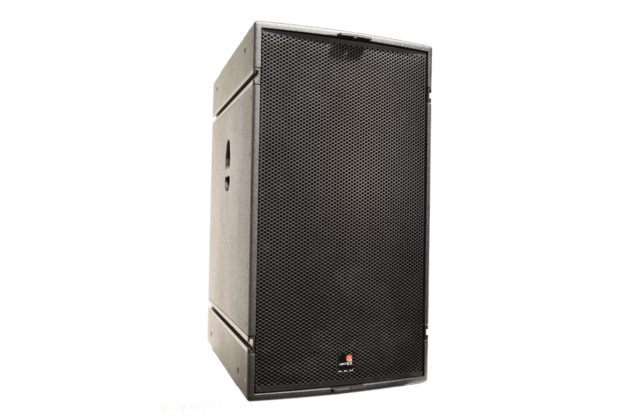ALIS 15 POINT SOURCE LOUDSPEAKER, FRONT PERSPECTIVE