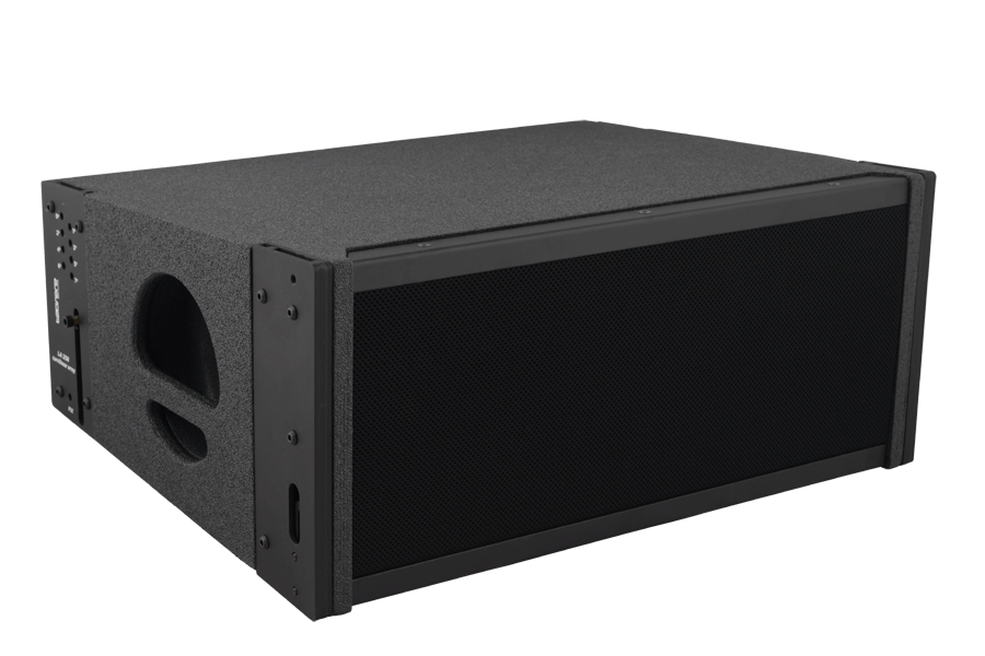 tecnare cla208 line array, left view