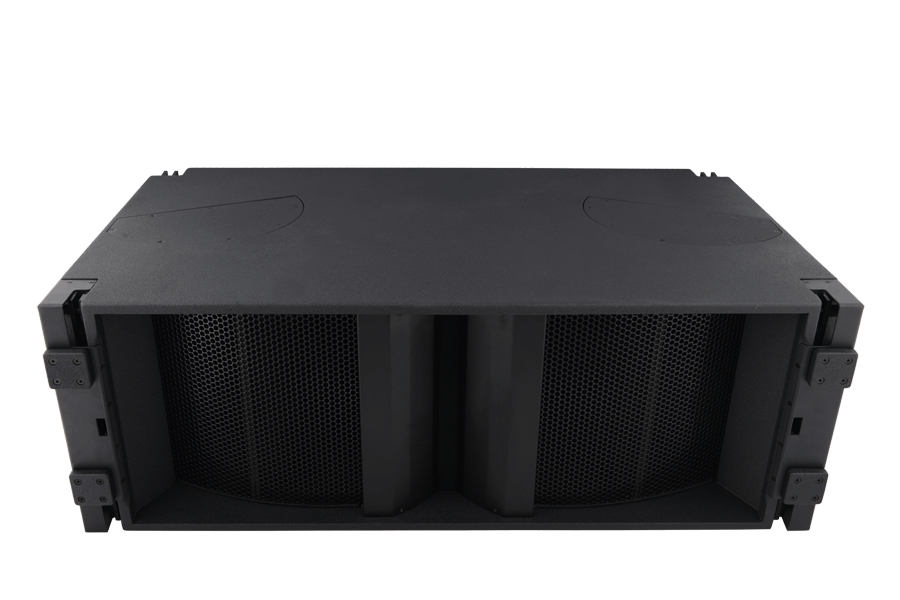 Tecnare Cla312 line array speaker, front perspective