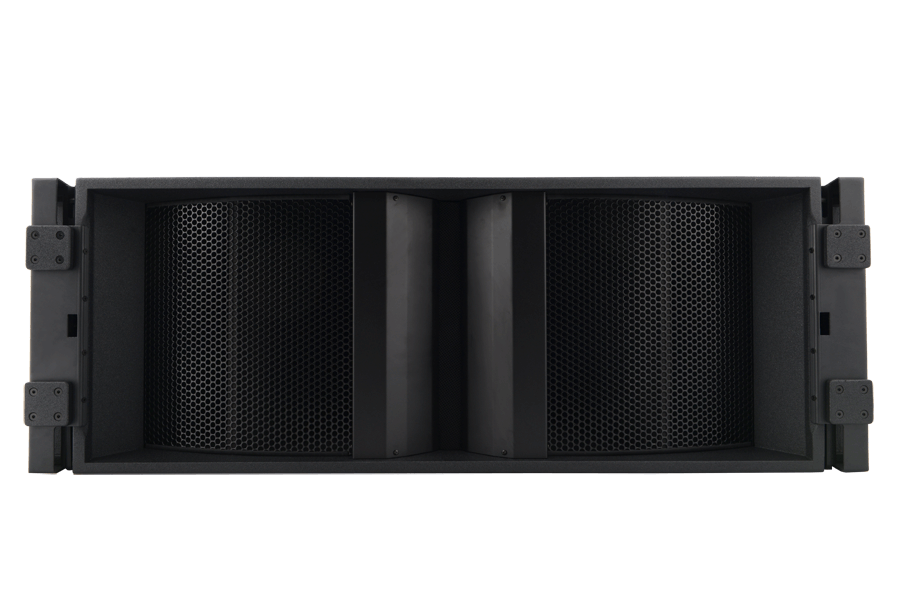 Tecnare Cla312 line array speaker, front view