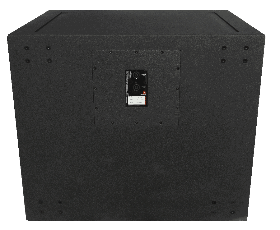 Tecnare SW215 Subwoofer back view