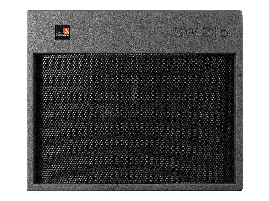 Tecnare SW215 Subwoofer front view