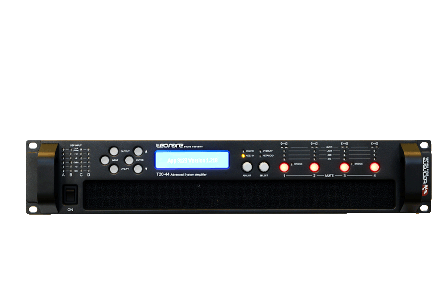 T-Series Digital Amplifiers 1