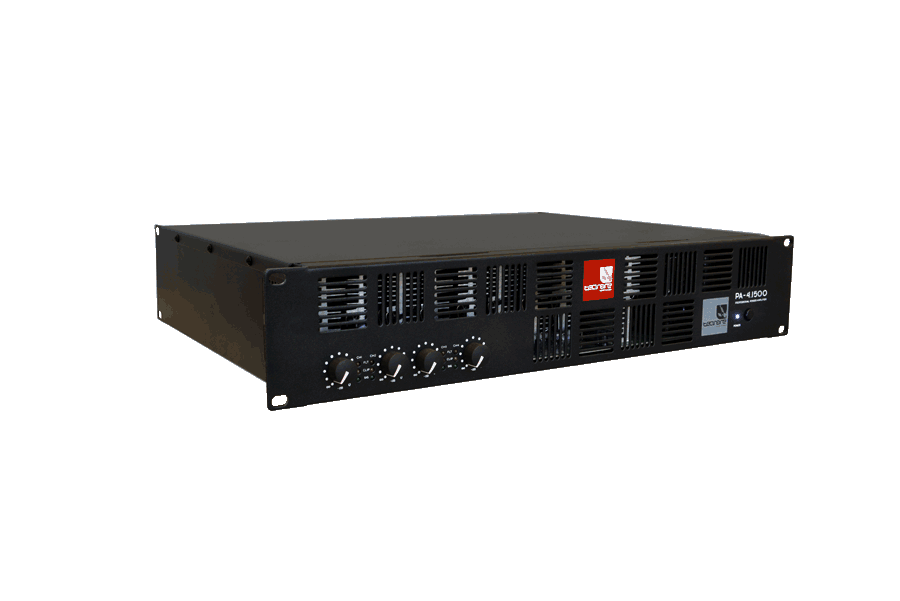 Tecnare PA 4.1500 4 channels amplifier, right view