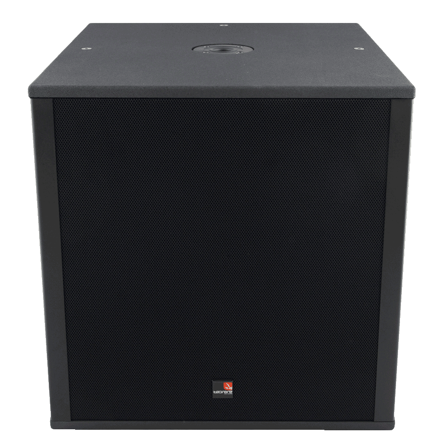 Tecnare SW118M Subwoofer front perspective