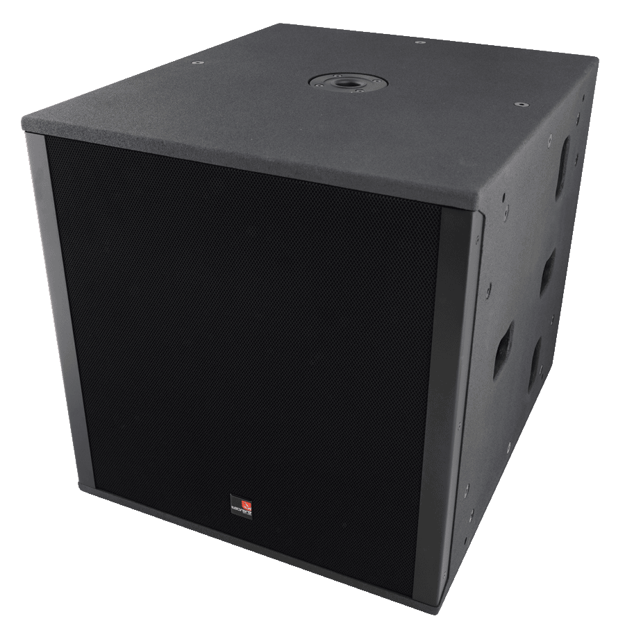 Tecnare SW118M Subwoofer left view