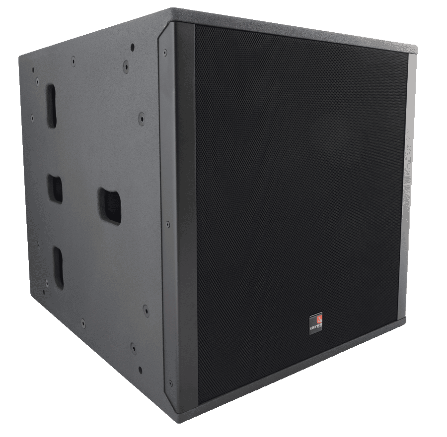 Tecnare SW118M Subwoofer right perspective