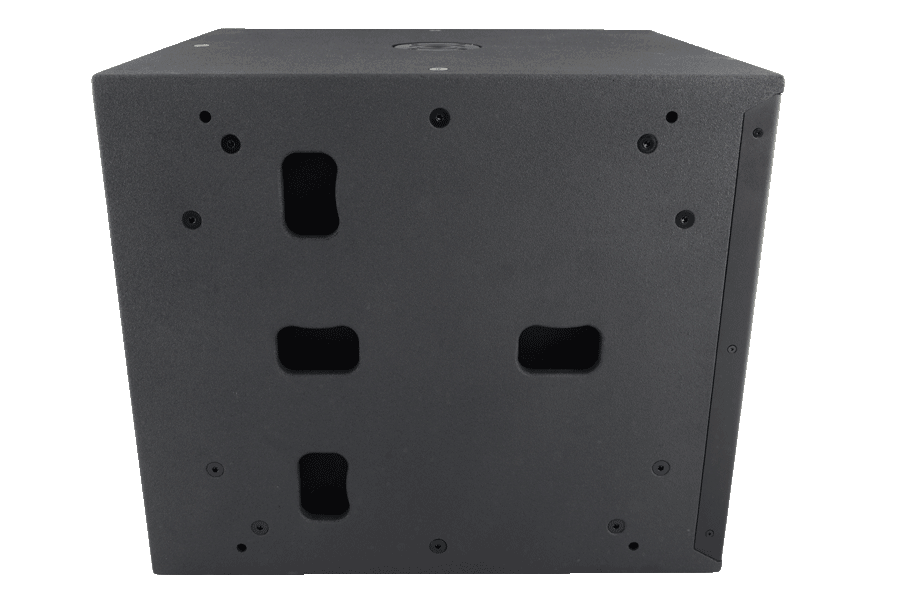 Tecnare SW118M Subwoofer lateral view