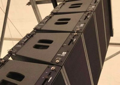 Weekend Beach Festival 2017, Tecnare Cla21 line array speaker