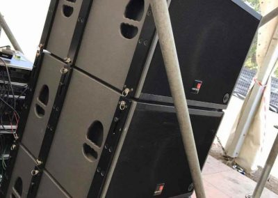 Weekend Beach Festival 2017, Tecnare SW18Vr Subwoofer