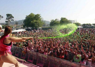 Samil Paint Party, Vigo, Spain