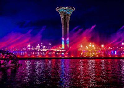 Expo Antalya night viewing
