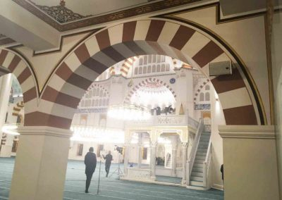 Coral Mosque, Kayseri, Turkey