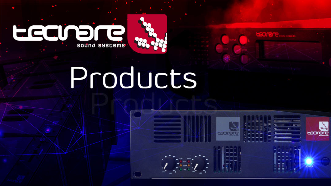 TECNARE PRODUCTS HEADER