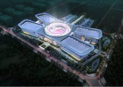 JiangXi-YiChun Big Data Center (China), aerial view