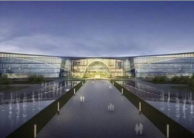 JiangXi-YiChun Big Data Center (China) front view