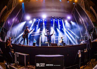 Viva Suecia Front, Oh See Festival