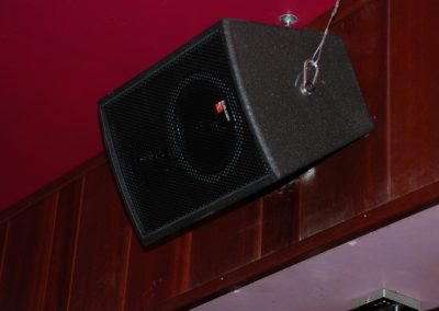 La machine du moulin rouge, tecnare speaker