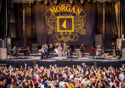 Morgan performance Oh See Festival