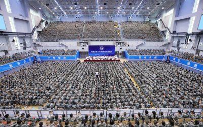 Gimnasios de la Universidad de Hunan (Changsá, China)
