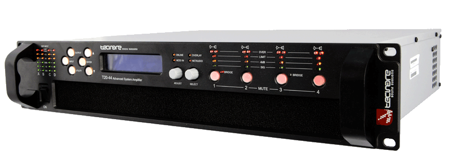 T-Series Powerful Digital Amplifiers 4