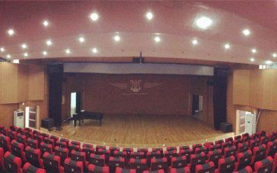 Salón de Conciertos de la Universidad JiangXi-YiChun